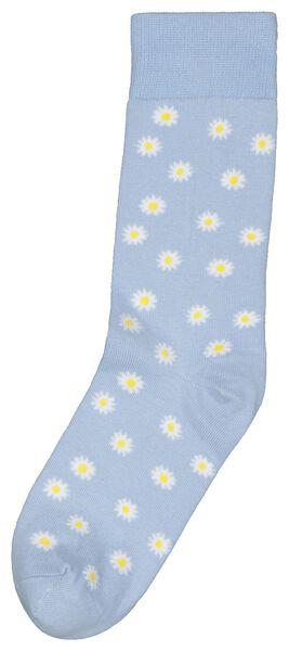 sokken 36-41 madeliefjes - 61140073 - HEMA