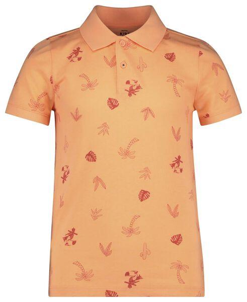 children's polo shirt bright orange bright orange - 1000018911 - hema