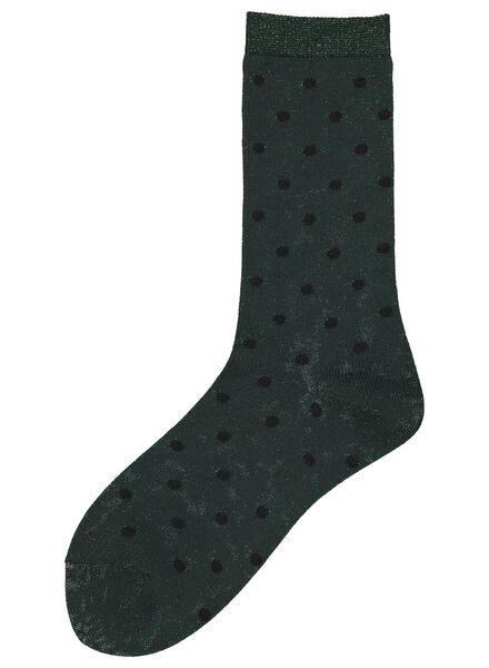 women's socks dark green dark green - 1000017311 - hema