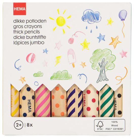 arts and crafts set colouring pencils - 15920402 - hema
