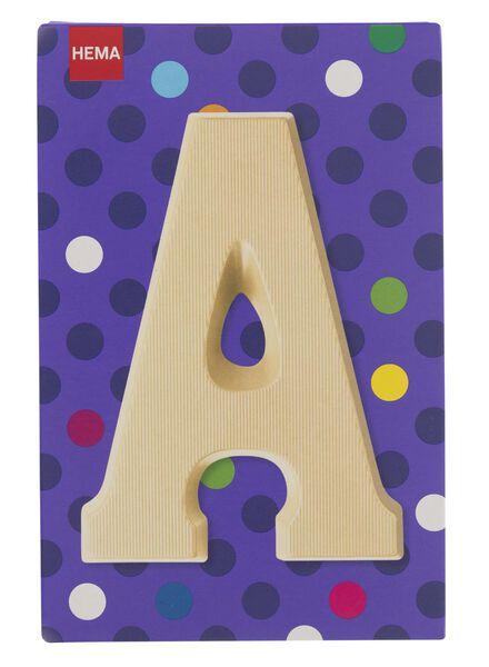 white chocolate letter A - 10037000 - hema