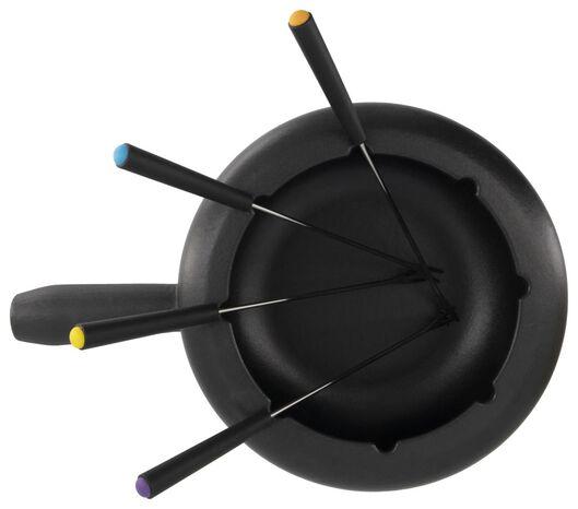 Fondueset, Ø 20 cm, 2 L - 80140001 - HEMA