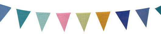 guirlande drapeaux papier - 10 mètres - 14280226 - HEMA