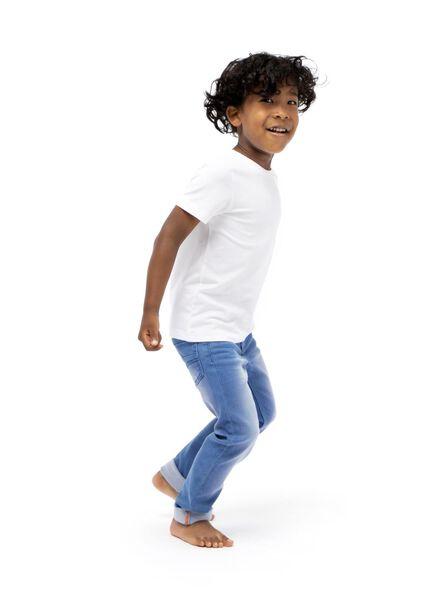 Kinder-Skinny-Jogdenim mittelblau 152 - 30735420 - HEMA