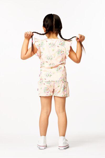Kinder-T-Shirt, Rüschen rosa rosa - 1000023647 - HEMA