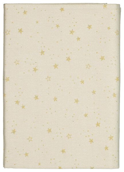 tablecloth 150x240 cotton - stars gold - 25640017 - hema