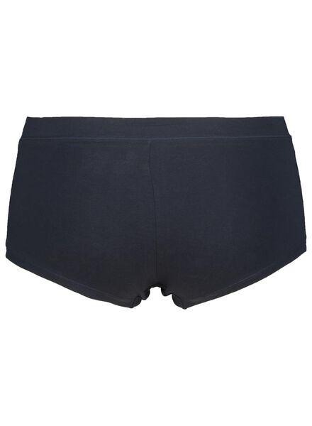 women's boxer shorts real lasting cotton blue blue - 1000014519 - hema