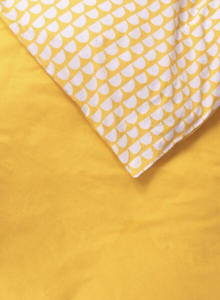 duvet cover - soft cotton - yellow ochre yellow ochre - 1000014148 - hema
