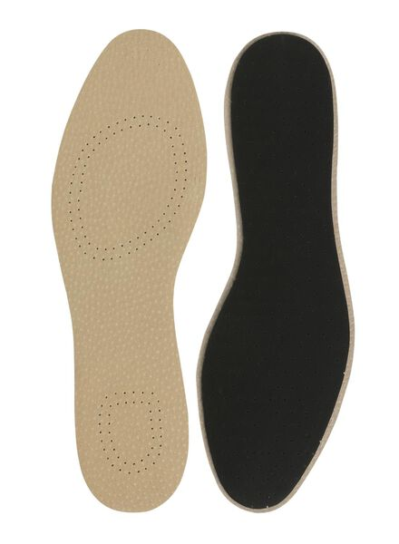 leather insoles size 37-38 - 20500053 - hema