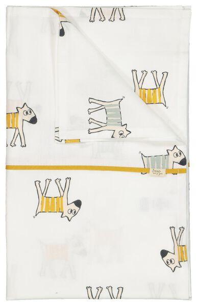 Kinderbettlaken, 120 x 150 cm, Hunde - 33347230 - HEMA