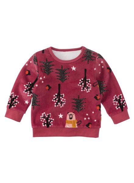 HEMA Baby Sweatshirt Rosa