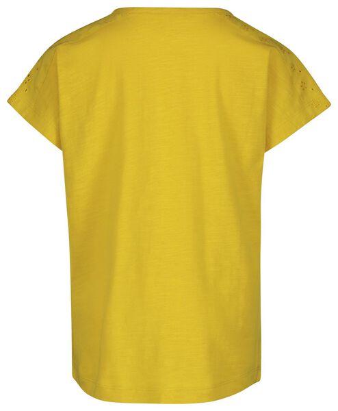 2-pack children's T-shirts yellow yellow - 1000019095 - hema