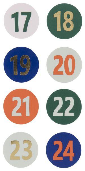 Image of HEMA 24 Countdown Stickers