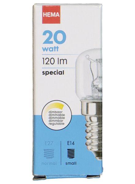 Nähmaschinenlampe, 20 W, 120 lm, klar - 20001302 - HEMA