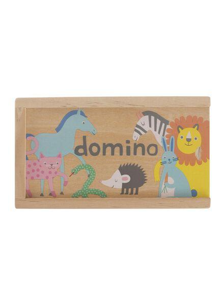 Holz-Dominospiel - 15190190 - HEMA