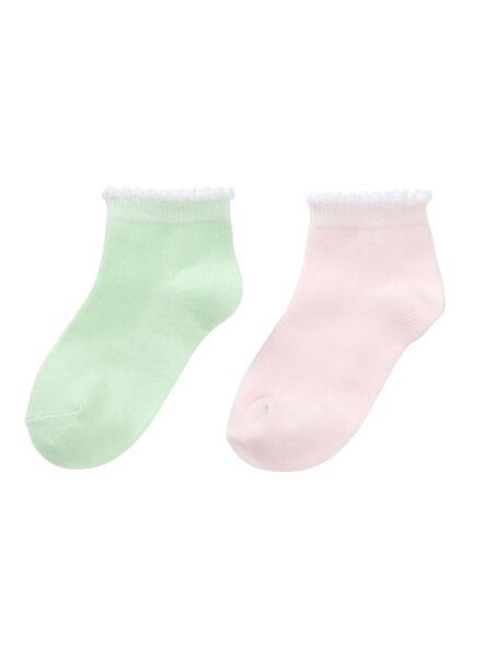 HEMA 2er Pack Kinder Socken Rosa
