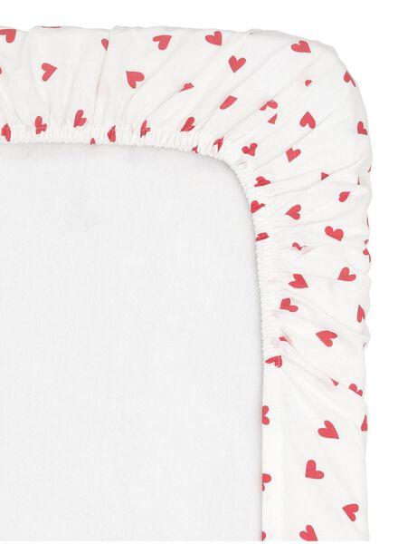drap-housse coton doux 70 x 150 cm - 5100177 - HEMA
