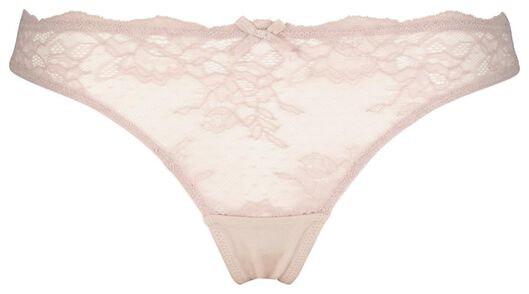 women's thong with lace lilac lilac - 1000020421 - hema