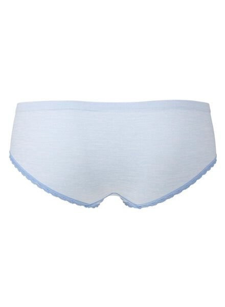 women's hipster panties seamless light blue light blue - 1000006524 - hema