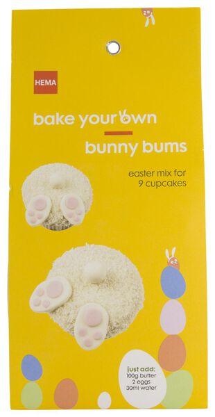 baking mix for 9 cupcakes bunny 370 grams - 10970067 - hema
