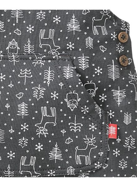 newborn jumpsuit grey grey - 1000005559 - hema