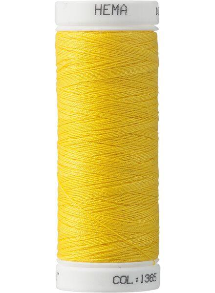 Maschinennähgarn Maschinennähgarn gelb - 1422025 - HEMA