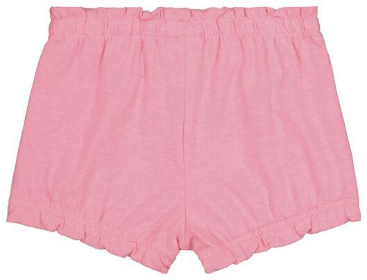 2 pairs of baby shorts pink pink - 1000019464 - hema