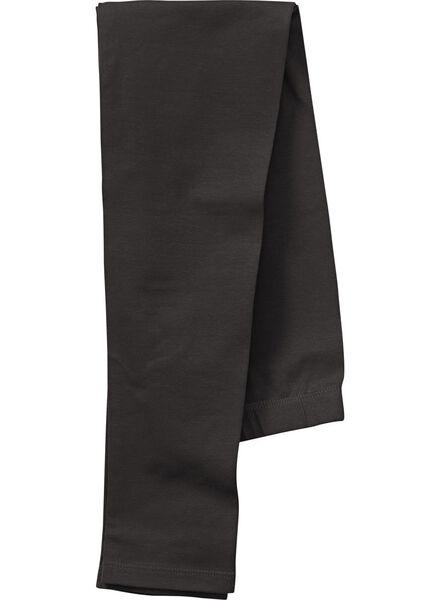 girls leggings black black - 1000006289 - hema