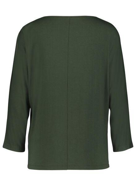 women's top dark green dark green - 1000017076 - hema