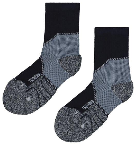 2-pack hiking socks blue blue - 1000018714 - hema