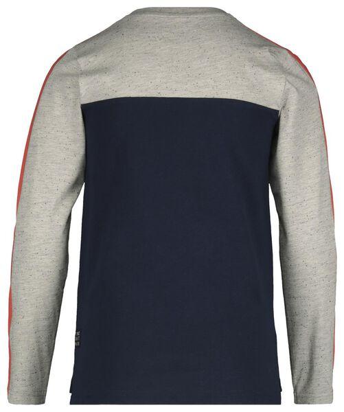children's T-shirt dark blue dark blue - 1000017738 - hema