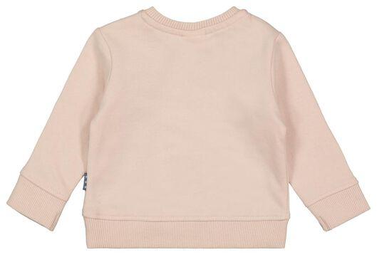 Newborn-Sweatshirt, Leopard altrosa 56 - 33411912 - HEMA