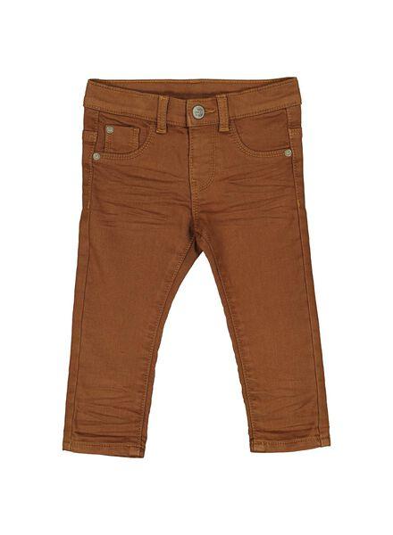 jog denim bébé marron marron - 1000014372 - HEMA