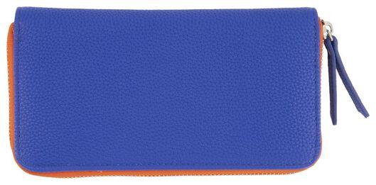 HEMA Portemonnaie, 10.5 X 20, Rot/blau