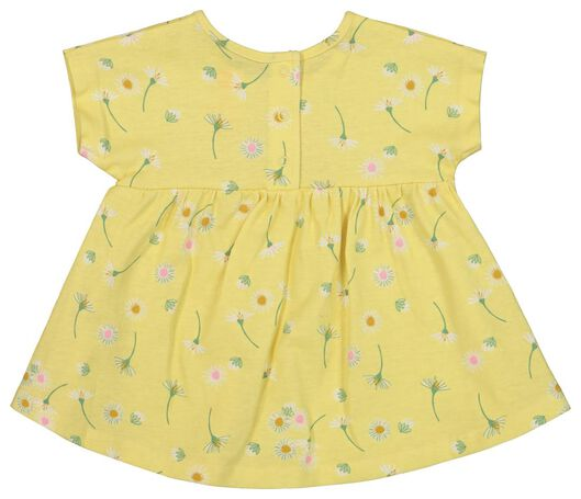 newborn set - tunic and bottoms yellow yellow - 1000019824 - hema