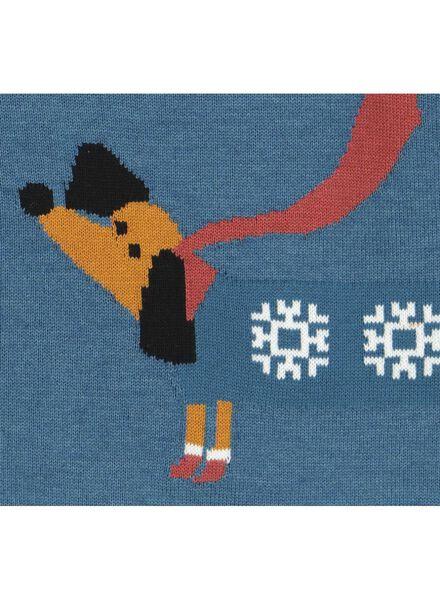 baby sweater blue blue - 1000016568 - hema