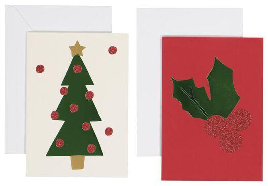 Image of HEMA 10 Christmas Cards 13.5x9.5 (red)