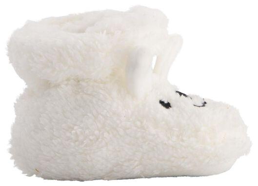 Baby-Schühchen, Teddy weiß weiß - 1000020516 - HEMA