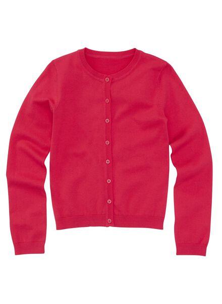girls cardigan pink pink - 1000005658 - hema
