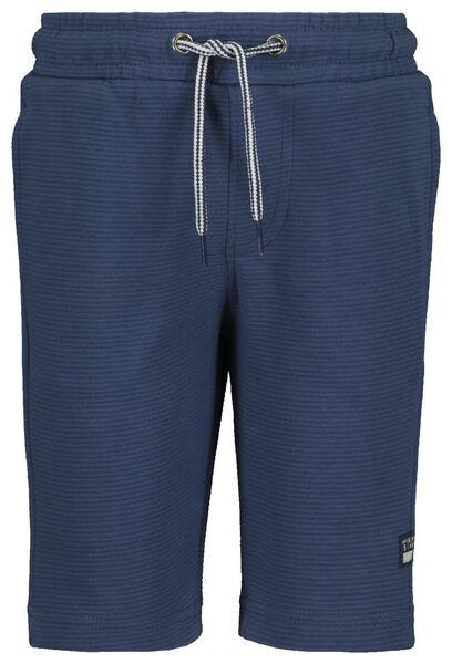 Kinder-Sweatshorts blau blau - 1000018586 - HEMA