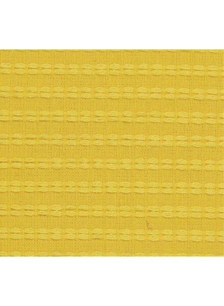 housse de coussin - 50 x 50 cm - jaune tissé - 7392101 - HEMA