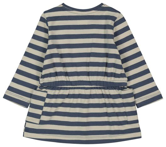 Baby-Kleid, Streifen eierschalenfarben 92 - 33008346 - HEMA