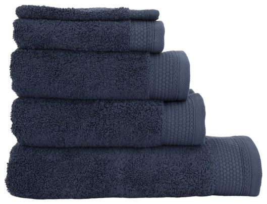 towel 60x110 hotel extra heavy - navy dark blue towel 60 x 110 - 5200199 - hema
