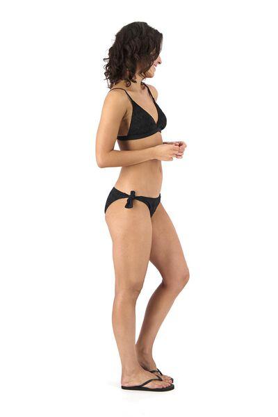 dames bikinislip zwart zwart - 1000017922 - HEMA