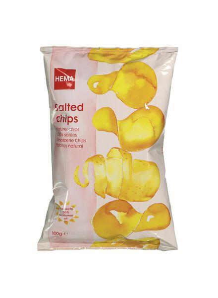 ready salted crisps - 10661112 - hema