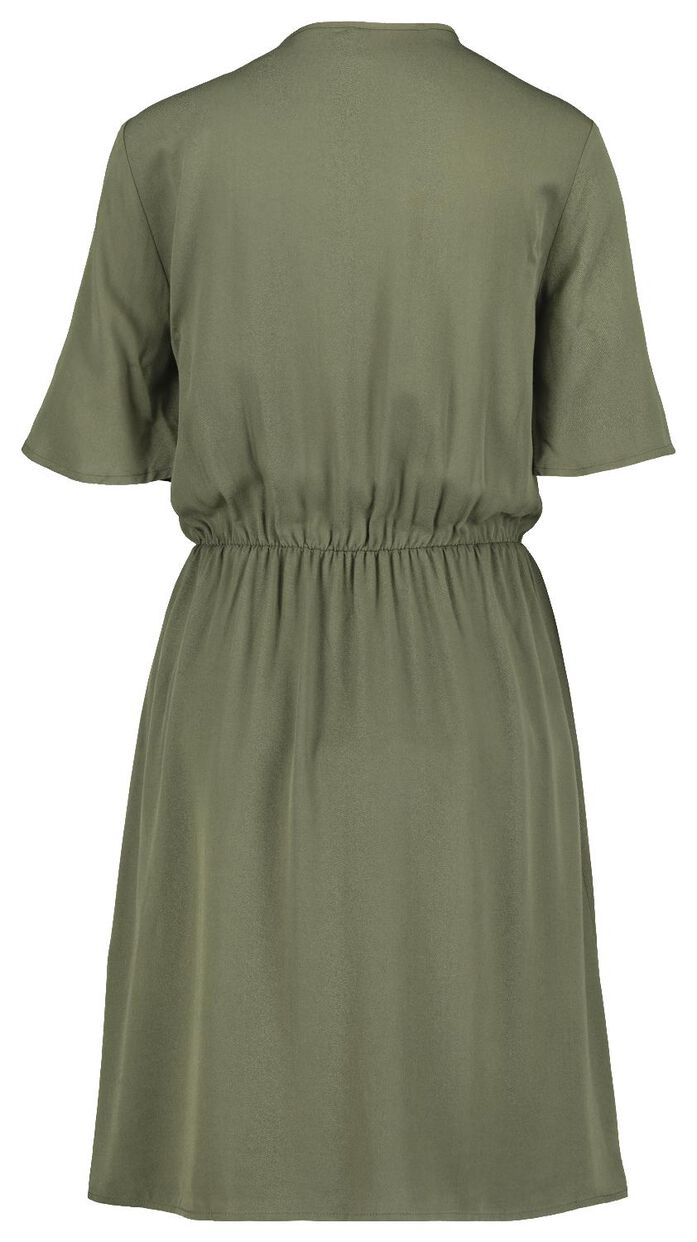 Damen-Kleid olivgrün - HEMA