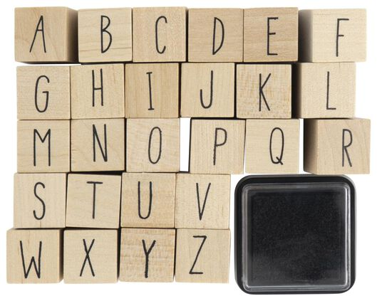 lot de tampons alphabet - 14802913 - HEMA