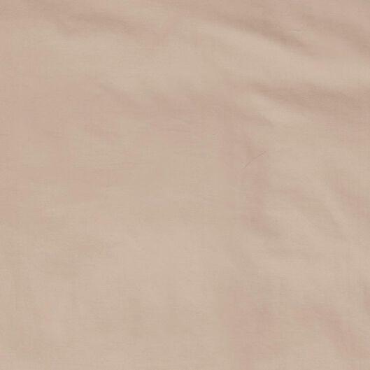 dekbedovertrek hotel katoensatijn taupe taupe - 1000022806 - HEMA