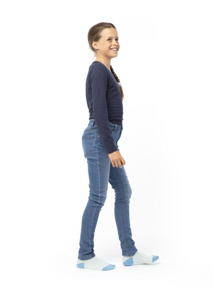 Kinder-T-Shirt dunkelblau dunkelblau - 1000013676 - HEMA