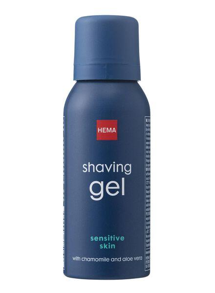 gel de rasage peaux sensibles - 11722064 - HEMA